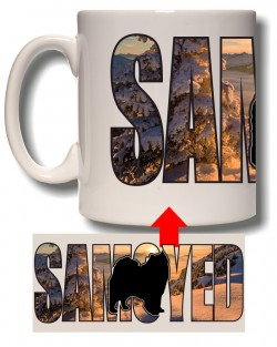 Samoyed Photo Mug