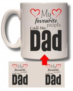 My Favourite - Dad Mug