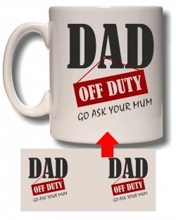 Off Duty Dad Mug