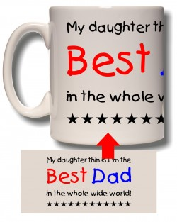 My Daughter Thinks Mug
