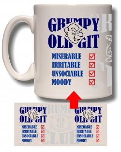 Old Git List Mug