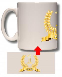 No1 Dad Award Mug
