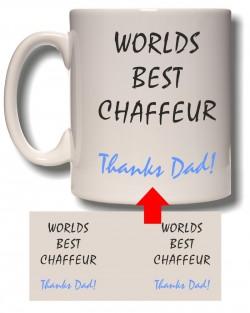 Best Chaffeur Mug