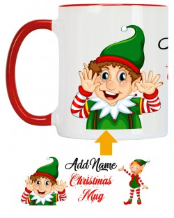 Named Christmas Mug