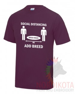 Social Distancing - Add Breed Cool T