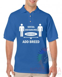 Social Distancing - Add Breed Polo