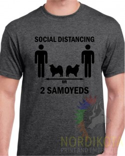 Social Distancing - Samoyed