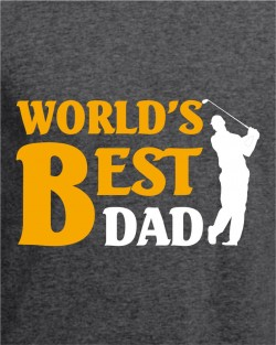 Worlds Best Dad - Golf