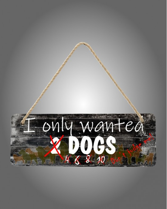 2 Dogs Sign