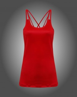 Ladies Spaghetti Strap Vest Top