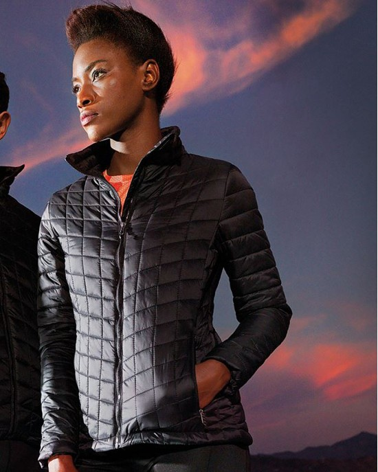 Ladies Ultralight thermo quilt jacket