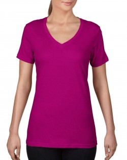 Ladies Featherweight V-Neck T-shirt