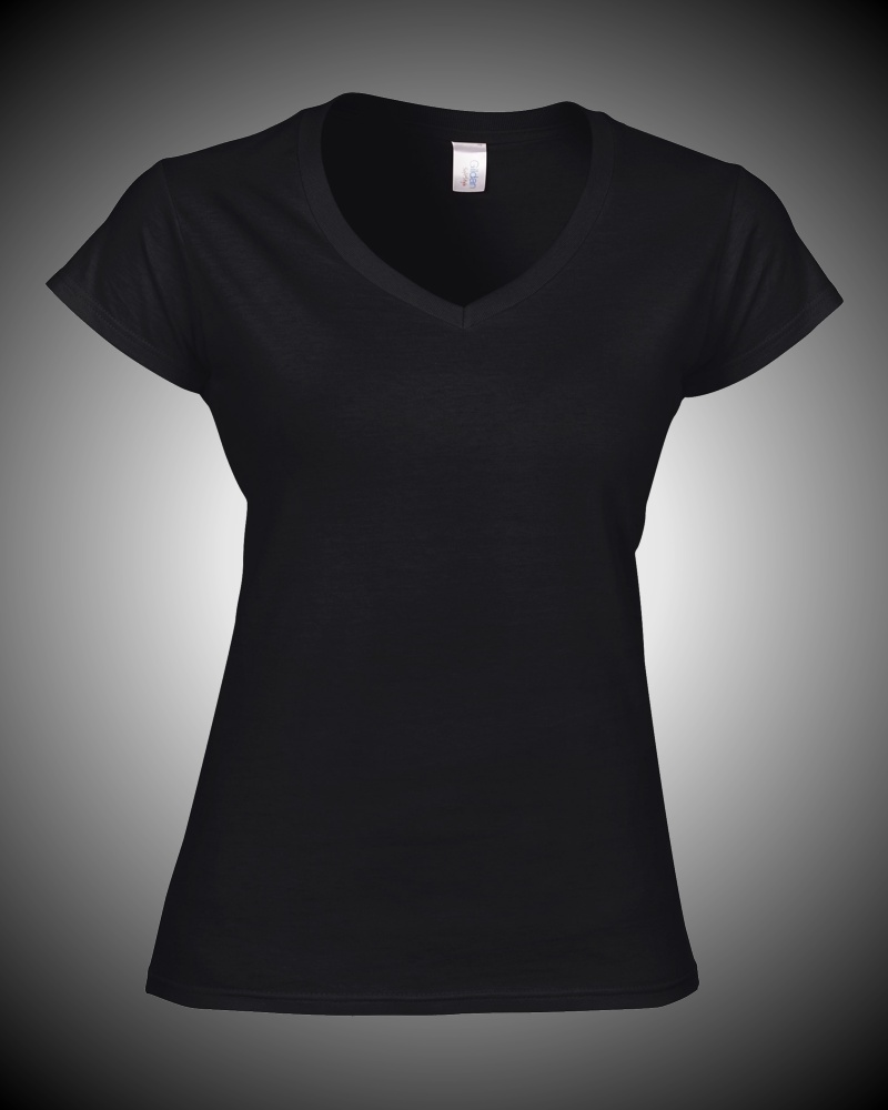 Powderworkers Ladies V-Neck T-shirt