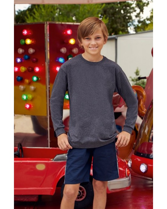 Kids Long Sleeve Valueweight T